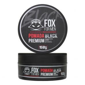 POMADA MODELADORA BLACK 150GR FOX FOR MEN