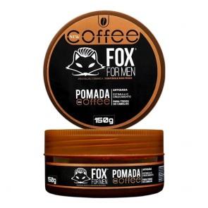 POMADA MODELADORA ANTIQUEDA EFEITO COFFEE 150GR FOX FOR MEN