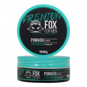 POMADA MODELADORA PREMIUM 150GR FOX FOR MEN