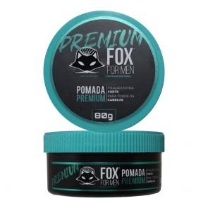 POMADA MODELADORA PREMIUM 80GR FOX FOR MEN