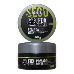POMADA MODELADORA TOQUE SECO 80GR FOX FOR MEN