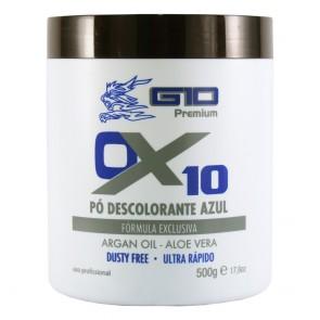 PÓ DESCOLORANTE AZUL OX 10 ULTRA RÁPIDO 500GR G10