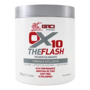 PÓ DESCOLORANTE BRANCO THE FLASH OX 10 500GR G10