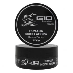 POMADA MODELADORA BLACK 150GR G10