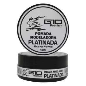 POMADA MODELADORA PLATINADA 130GR G10