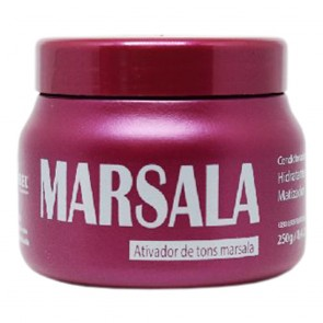 MÁSCARA TONALIZANTE MARSALA 250GR MAIRIBEL