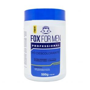 PÓ DESCOLORANTE CLAREIA 9 TONS 500GR FOX FOR MEN