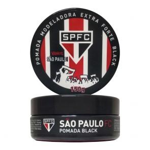 POMADA MODELADORA BLACK SÃO PAULO 150GR TIME